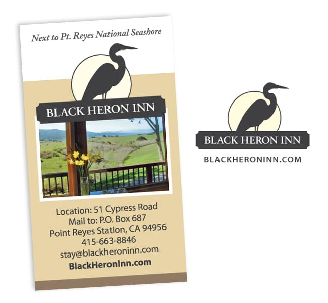 Black Heron Inn Logo
