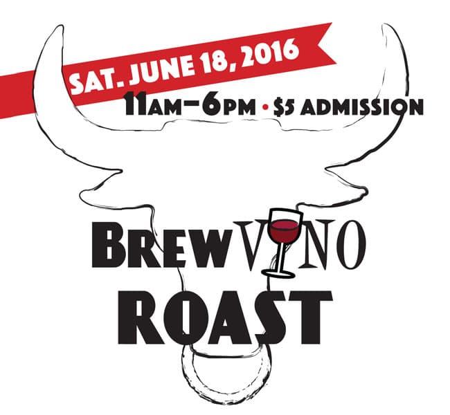 Brew Vino Roast Logo