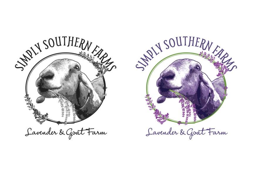 Simply Souther Farms Logo