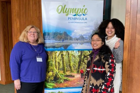IOS at the Olympic Peninsula Tourism Summit