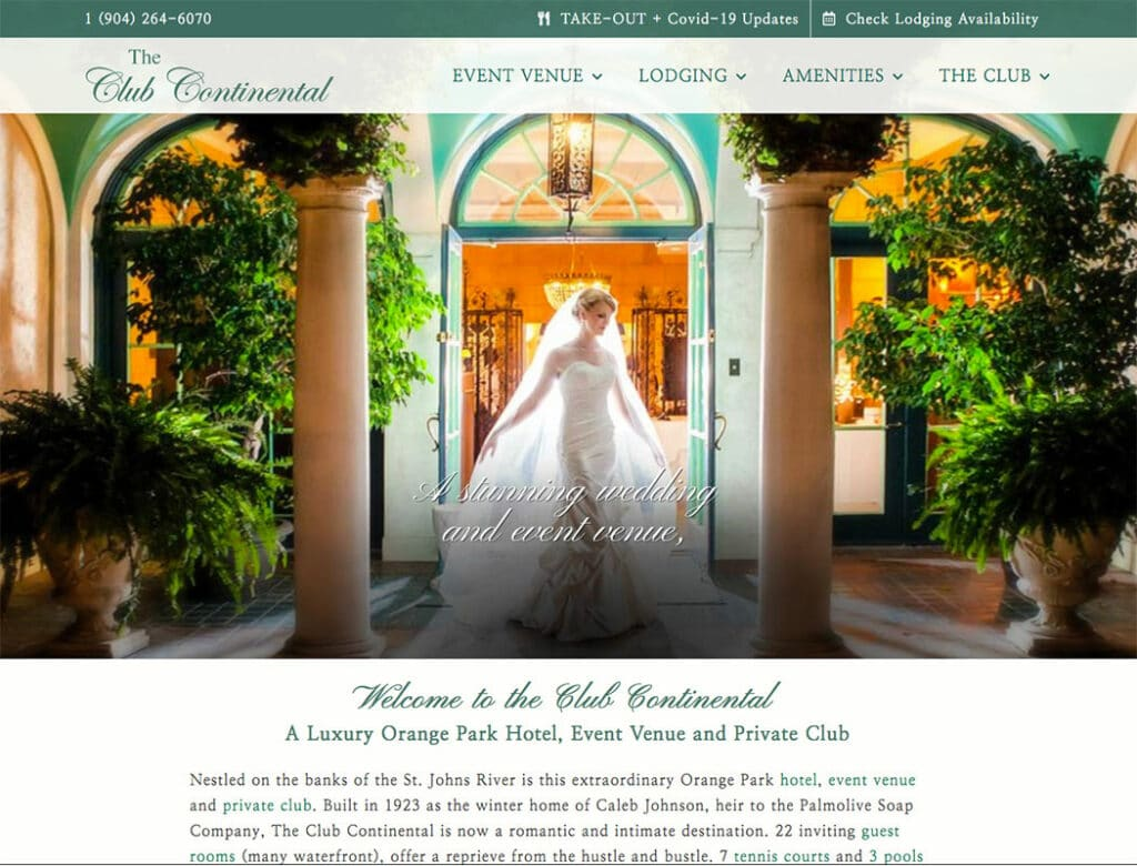 The Club Continental Weddings