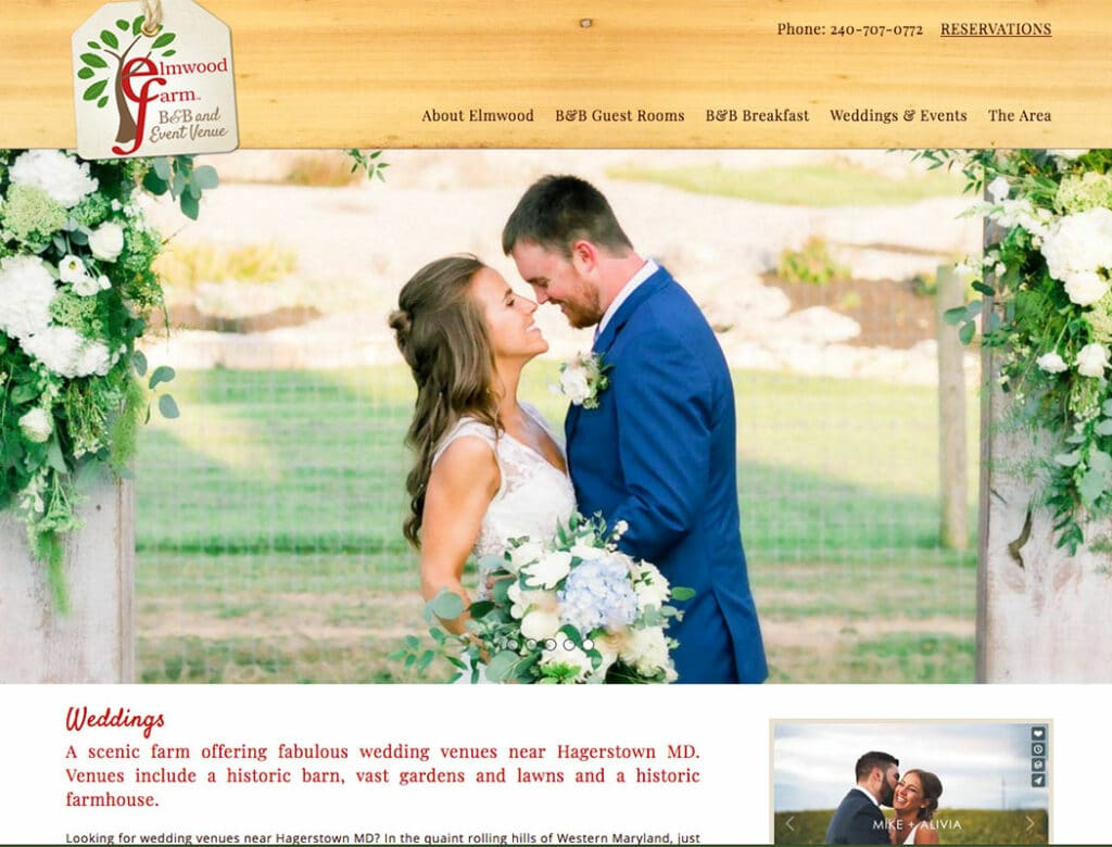 Elmwood Farm Weddings