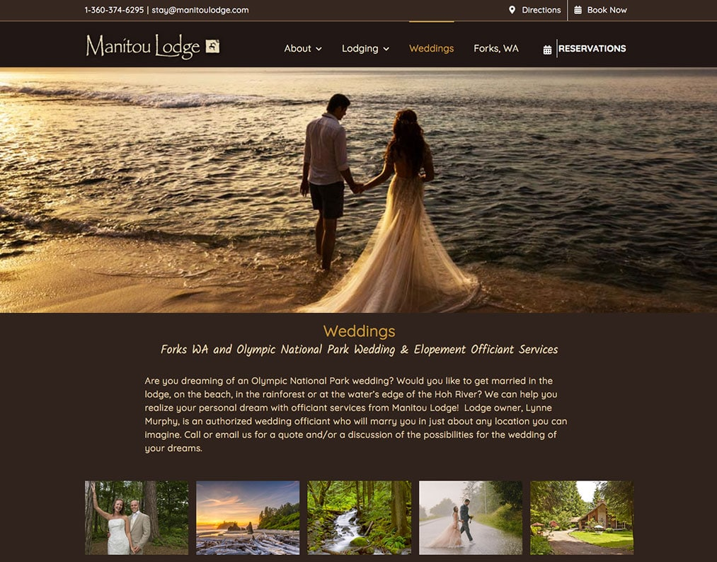 Manitou Lodge Weddings