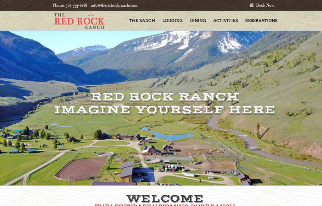 Red Rock Ranch Website