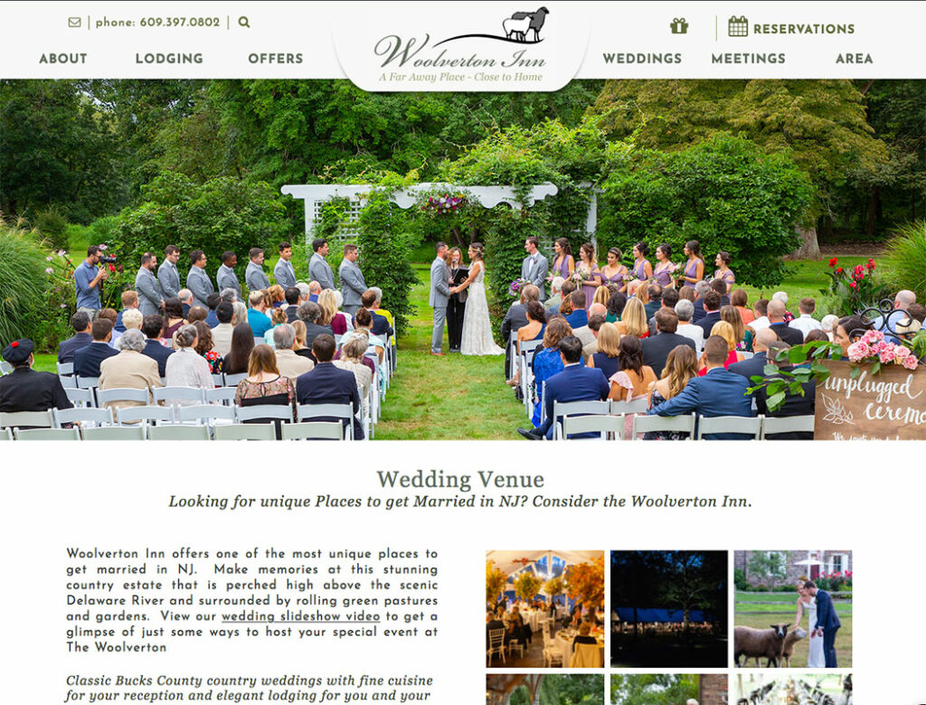 Woolverton Inn Weddings