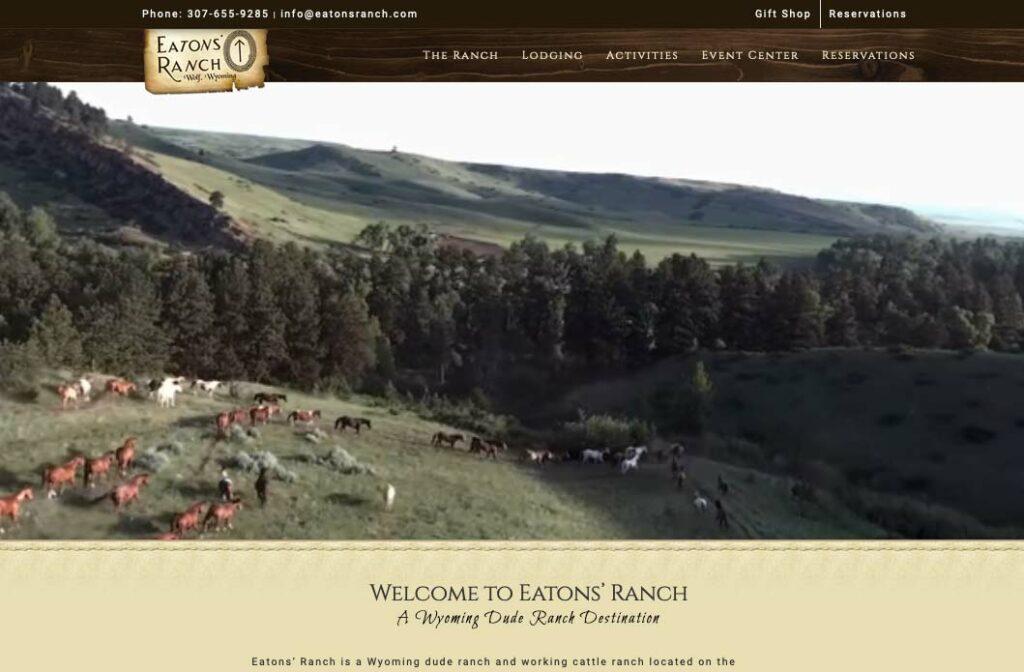 Eaton's Ranch Website