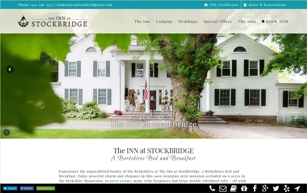 Case Study: Inn at Stockbridge
