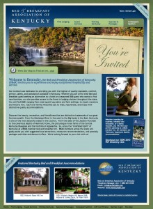 The New Site for B&B Assoc. of Kentucky