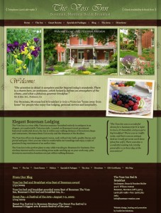 New Web Site Design for Voss Inn