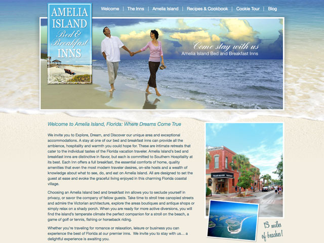 New Amelia Island Bed & Breakfast Association Website