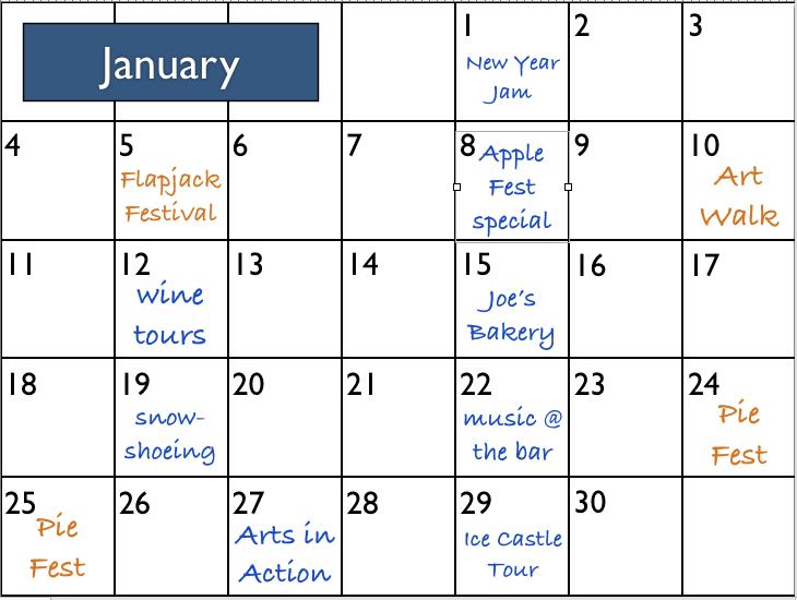 free online weekly calendar