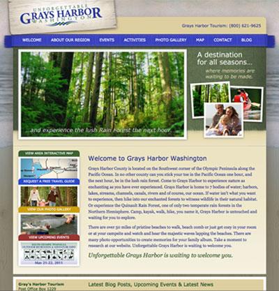 New Website for Grays Harbor Tourism