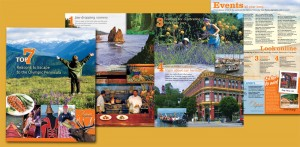 Trifold brochure for new Olympic Peninsula marketing strategy